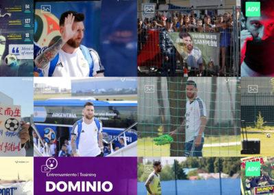 Фотографии Лионеля Месси на Чемпионате Мира в России