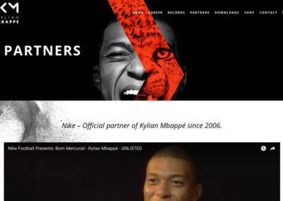 Спортивные спонсоры Килиана Мбапе