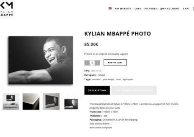 интернет-магазин Килиана Мбапе