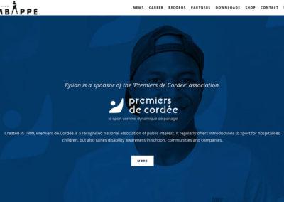 Сайт Мбапе